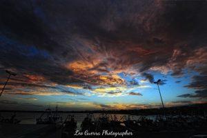 Tramonto al Porto di Manfredonia (FG) – Molo di Levante